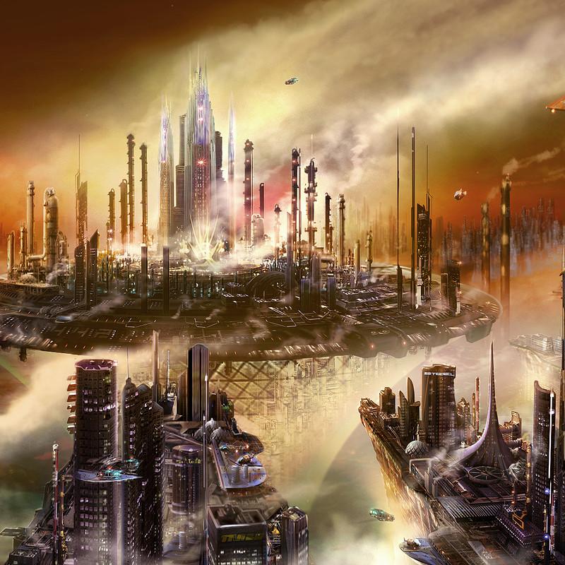 Terran Refinery city