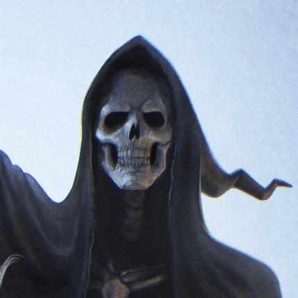 Sal vador thedarkcloak deathfacedetail nochroma