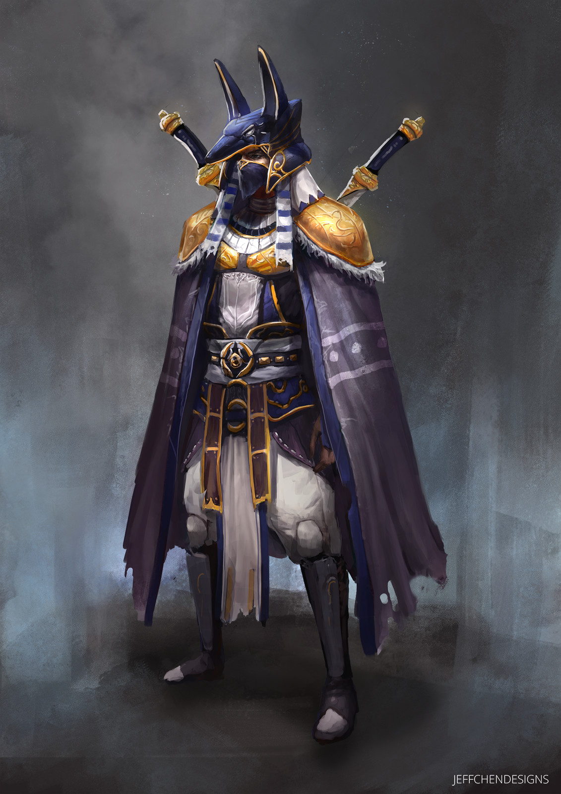 Egyptian Hero Character Design