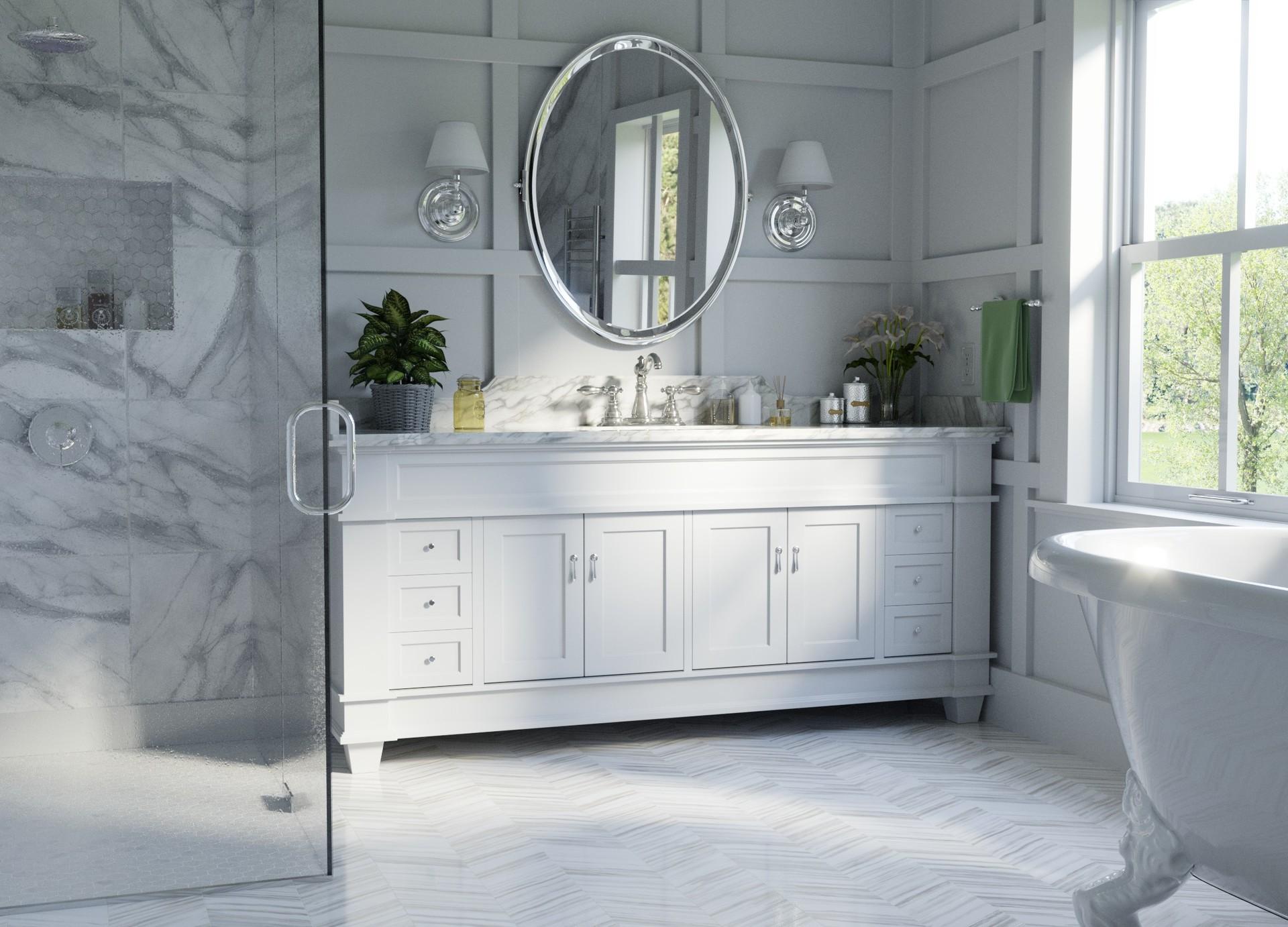 ArtStation - Traditional Bathroom, Andrew Price