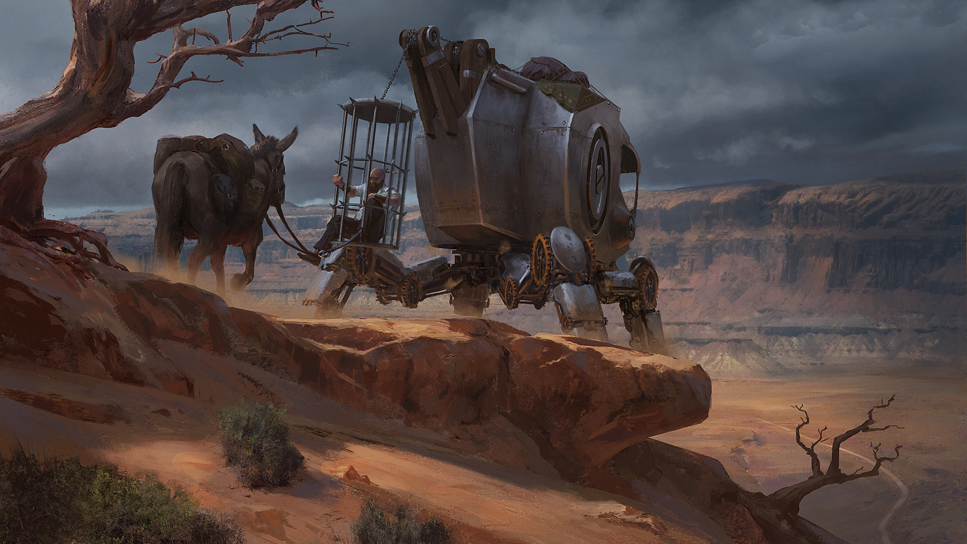 Klaus pillon cage mech imgar final