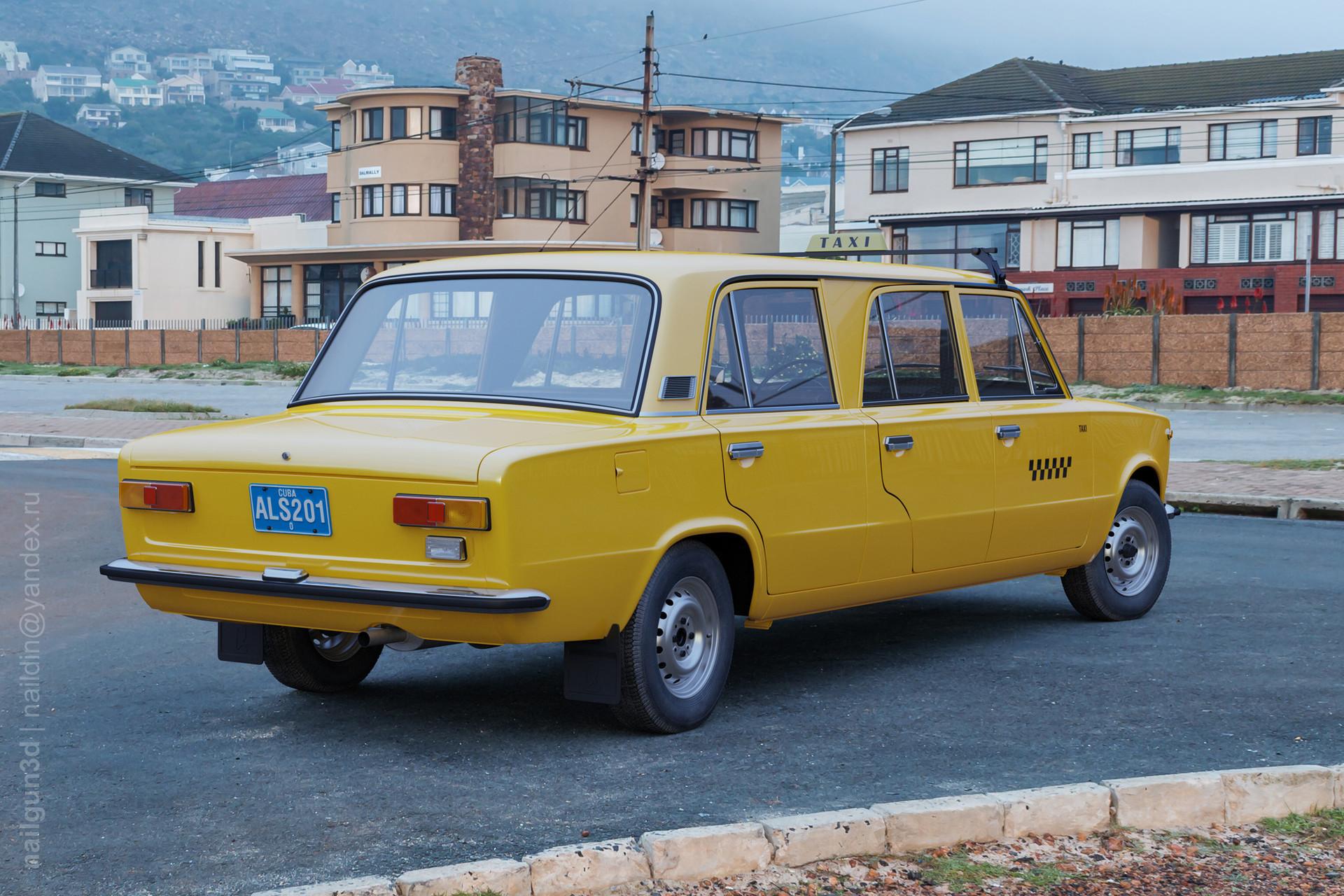 Nail khusnutdinov als 201 010 vaz 21011 limousine back view 3x