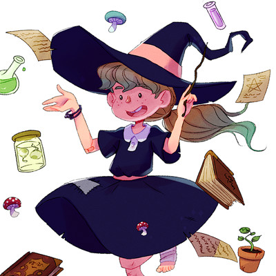Maciej kachel witch mini