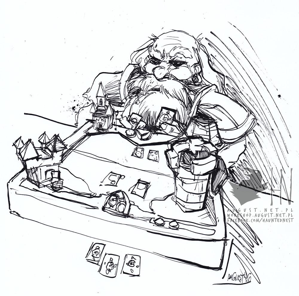 Day 15; Friendly Hearthstone match against some Dwarf