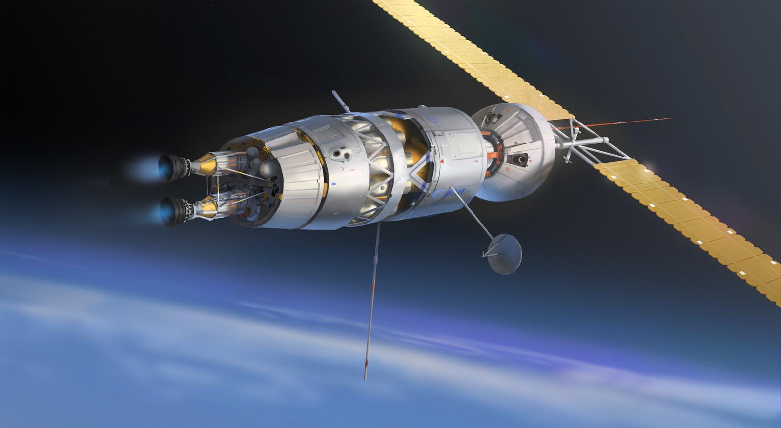 Nuclear Engine Spaceship - Mars Express