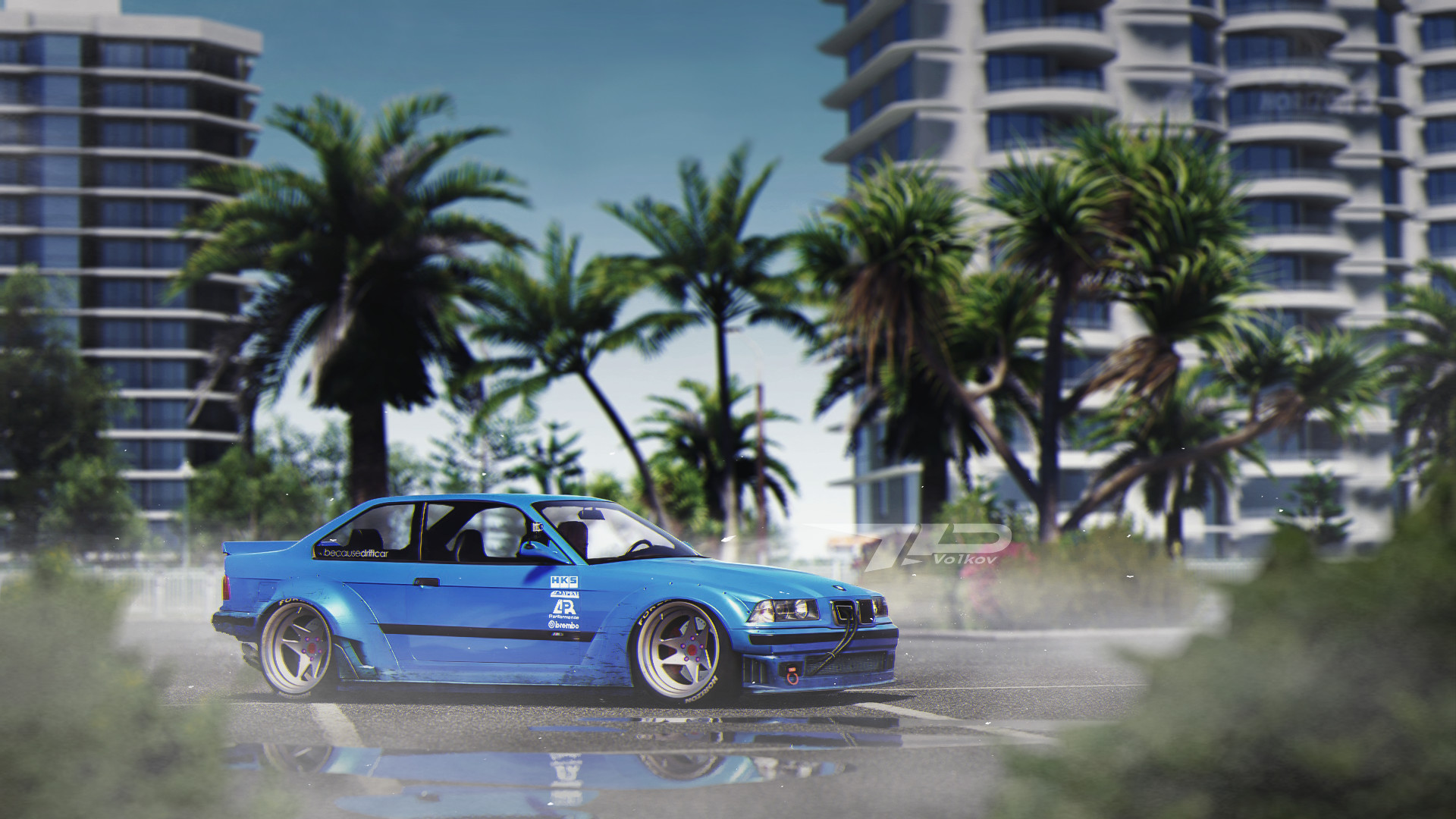 Bmw E36 Drift Build