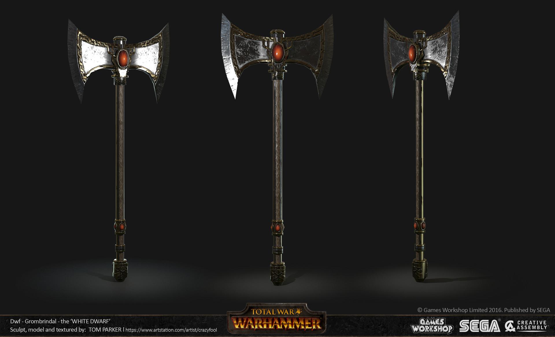 tom parker - total war warhammer