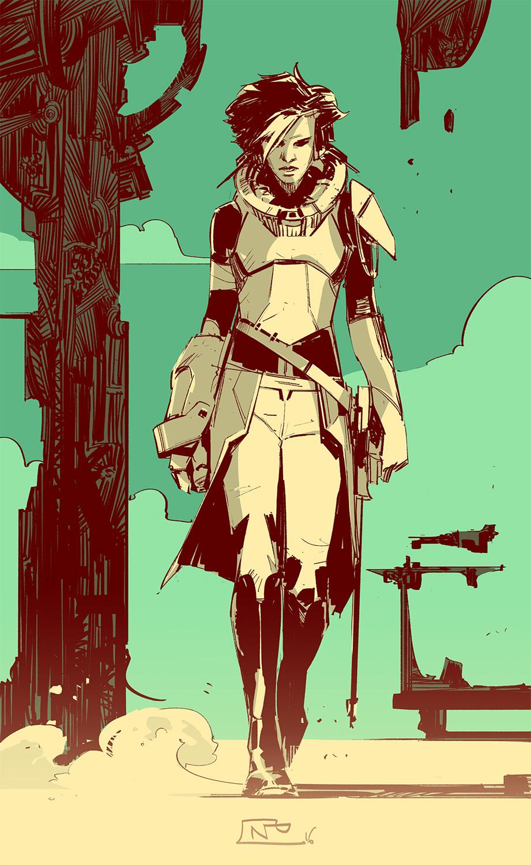 Nicolas petrimaux spacegirl
