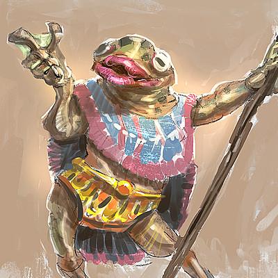 Douglas deri frog