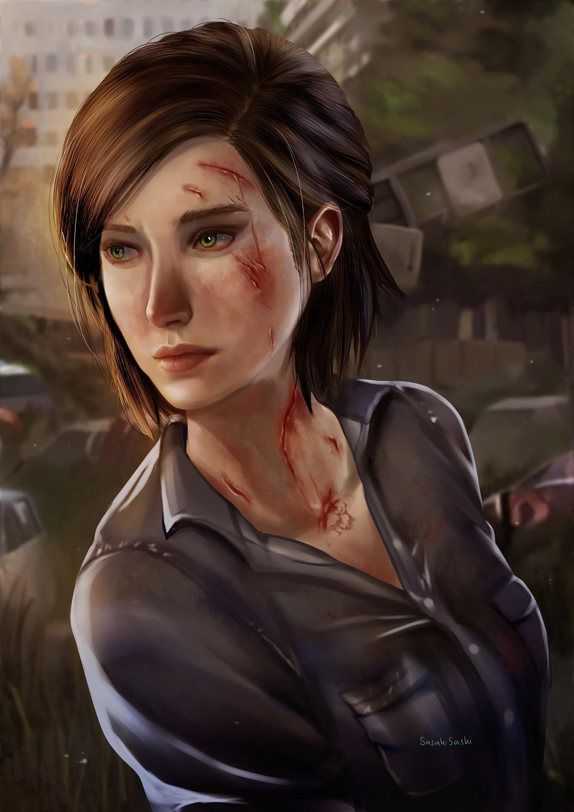 Dea Aulia Sari Ellie The Last Of Us 2 Fanart