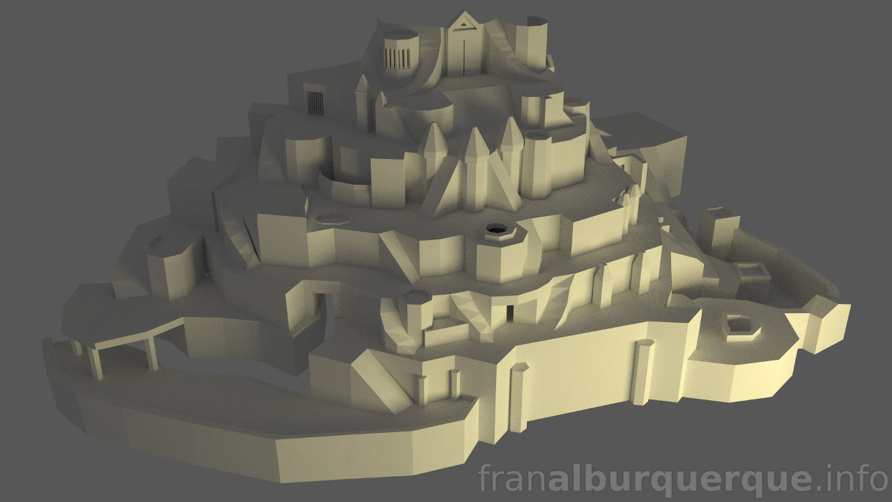Fran alburquerque 3d ancient 18 wip