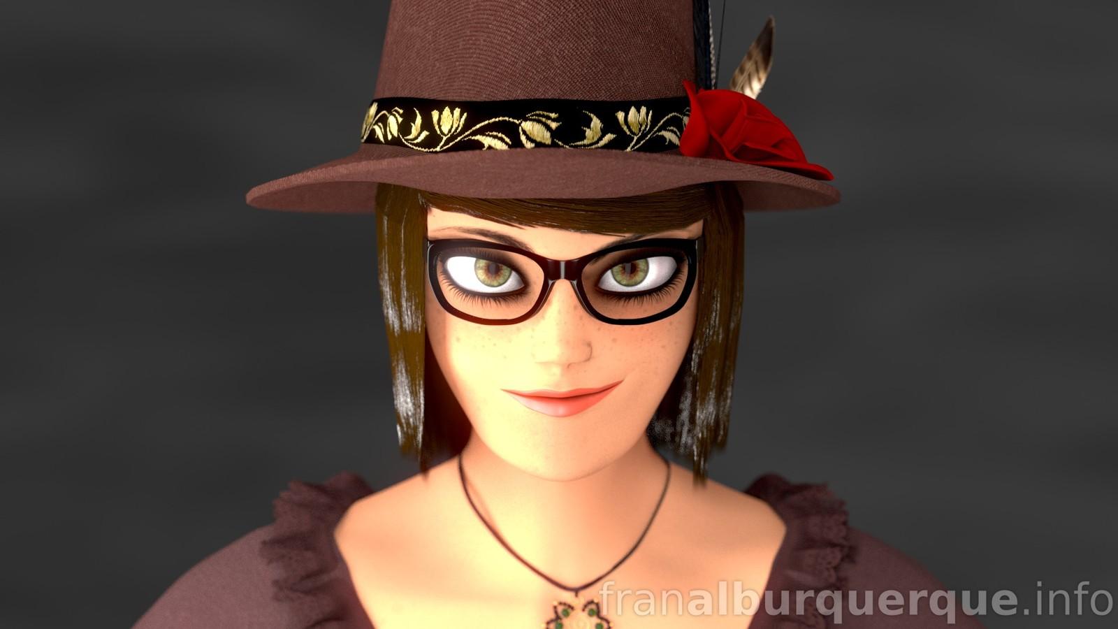 Emma, 3D character