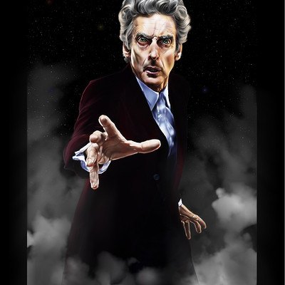 Lee bryan peter capaldi as the doctor complete