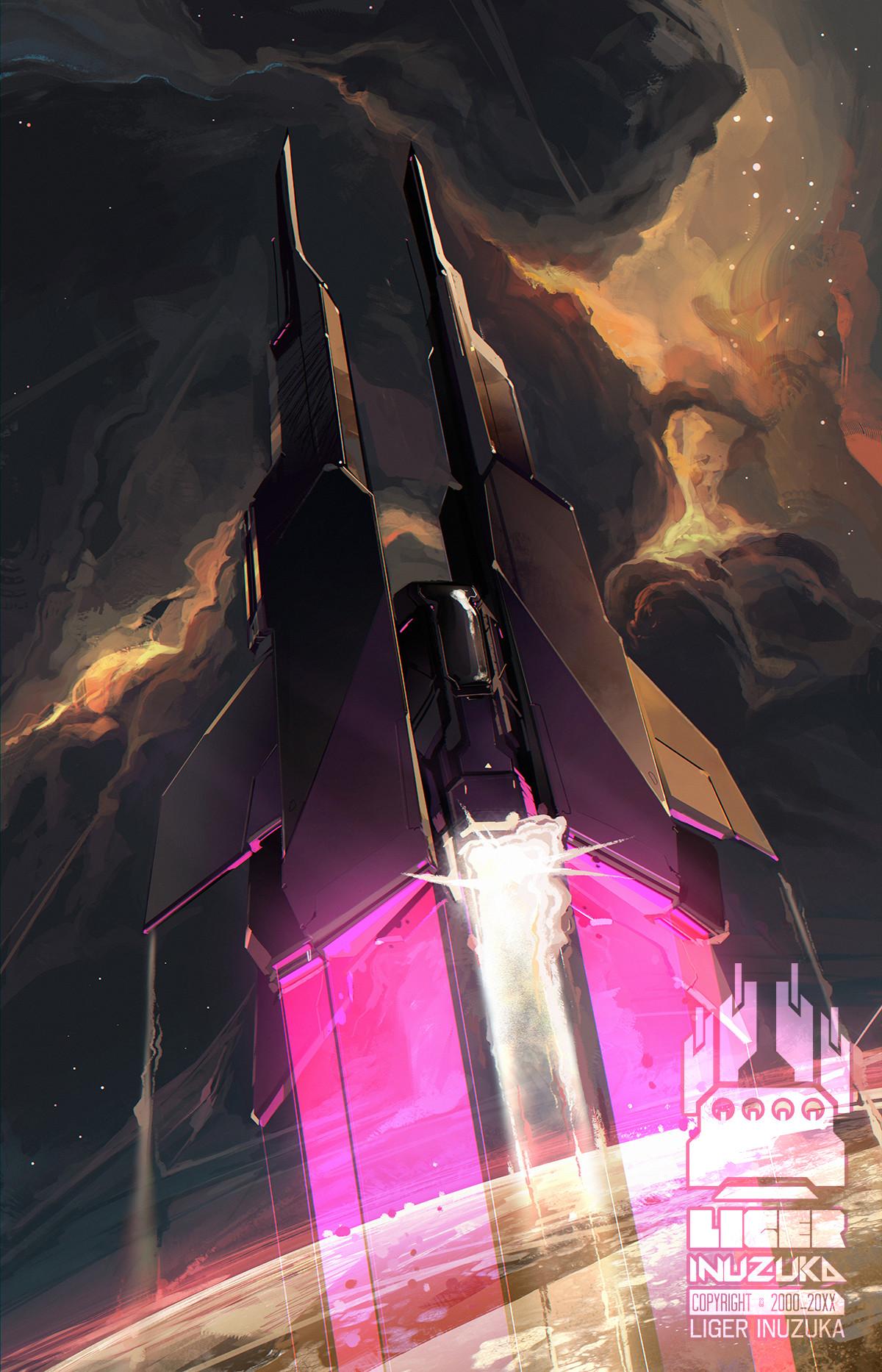 Liger inuzuka purple shuttle wtrmrk