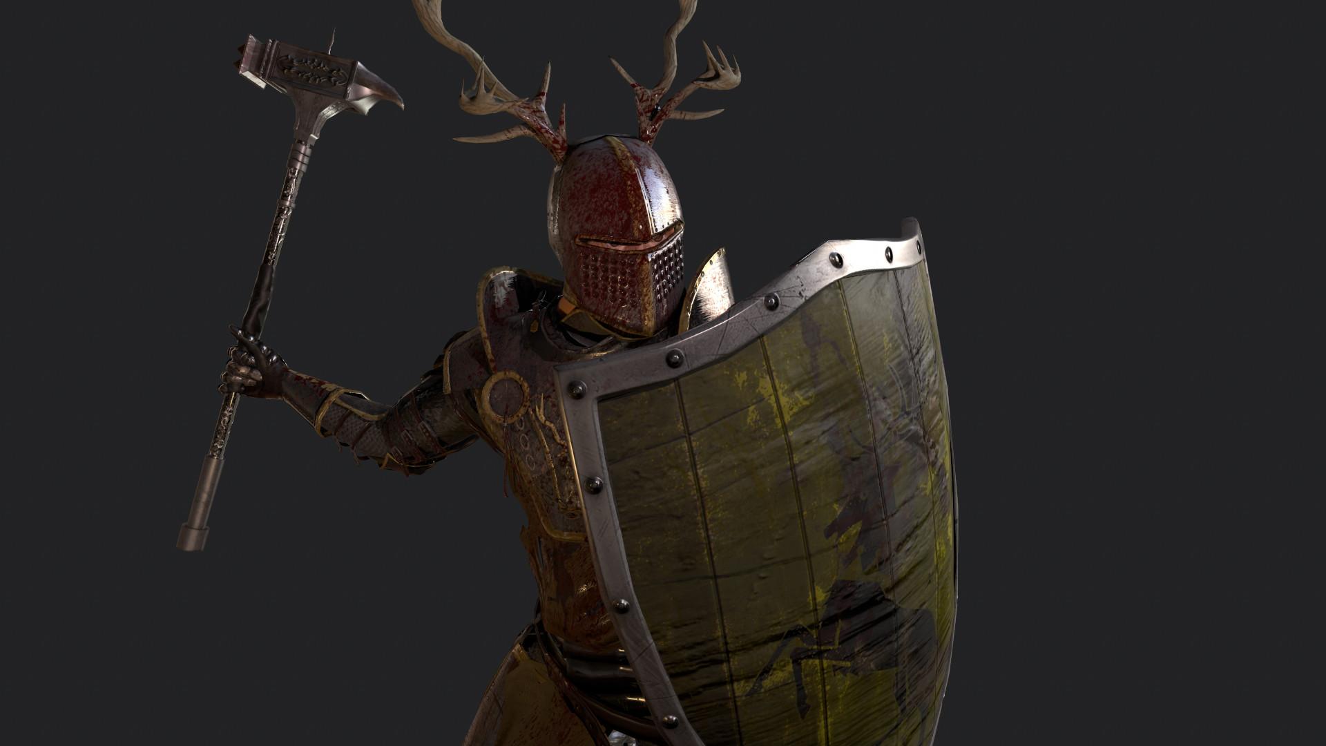 Jason Peeks 3D Art folio Young Robert Baratheon