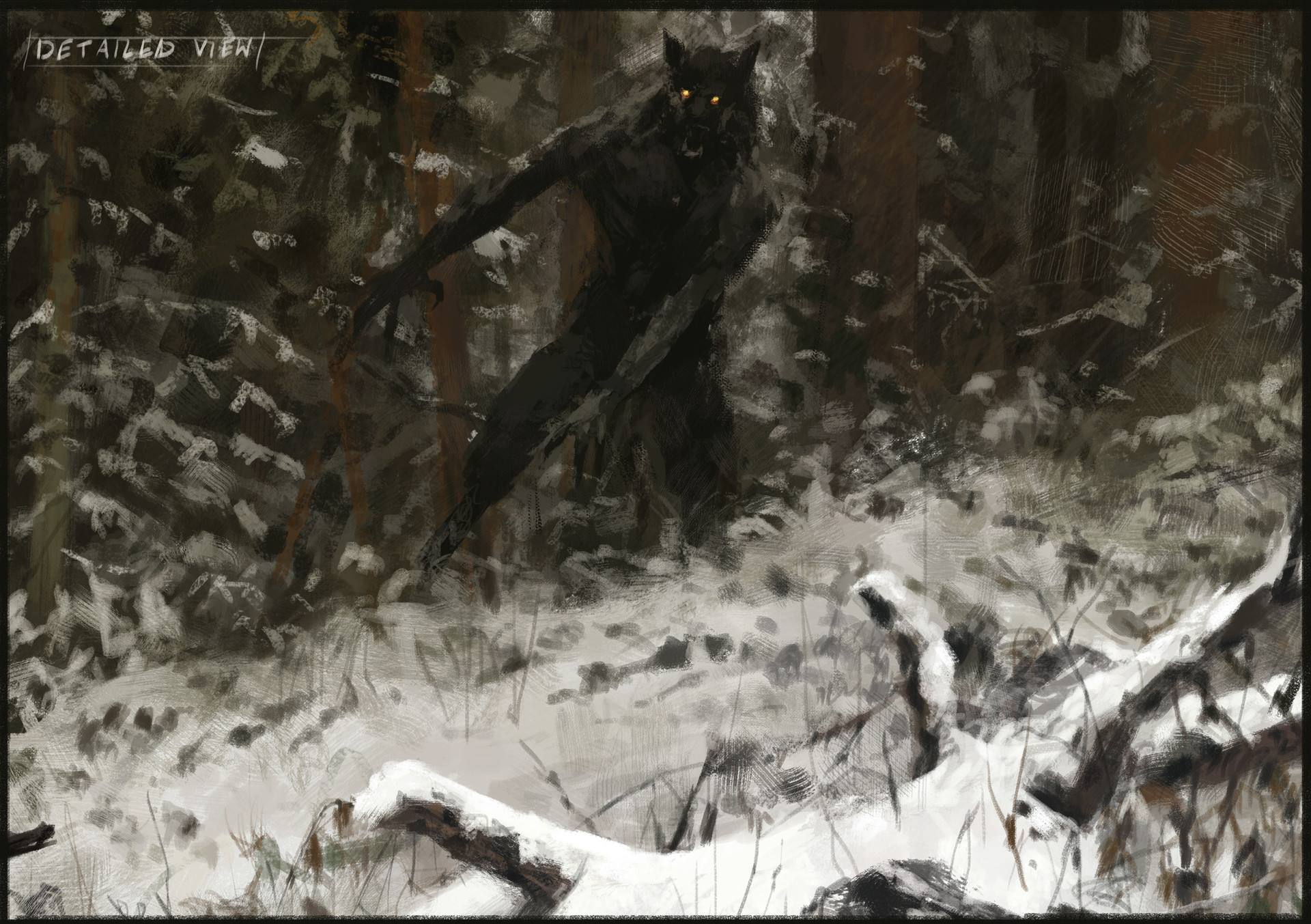 Jakub rozalski hunt or be hunted process05
