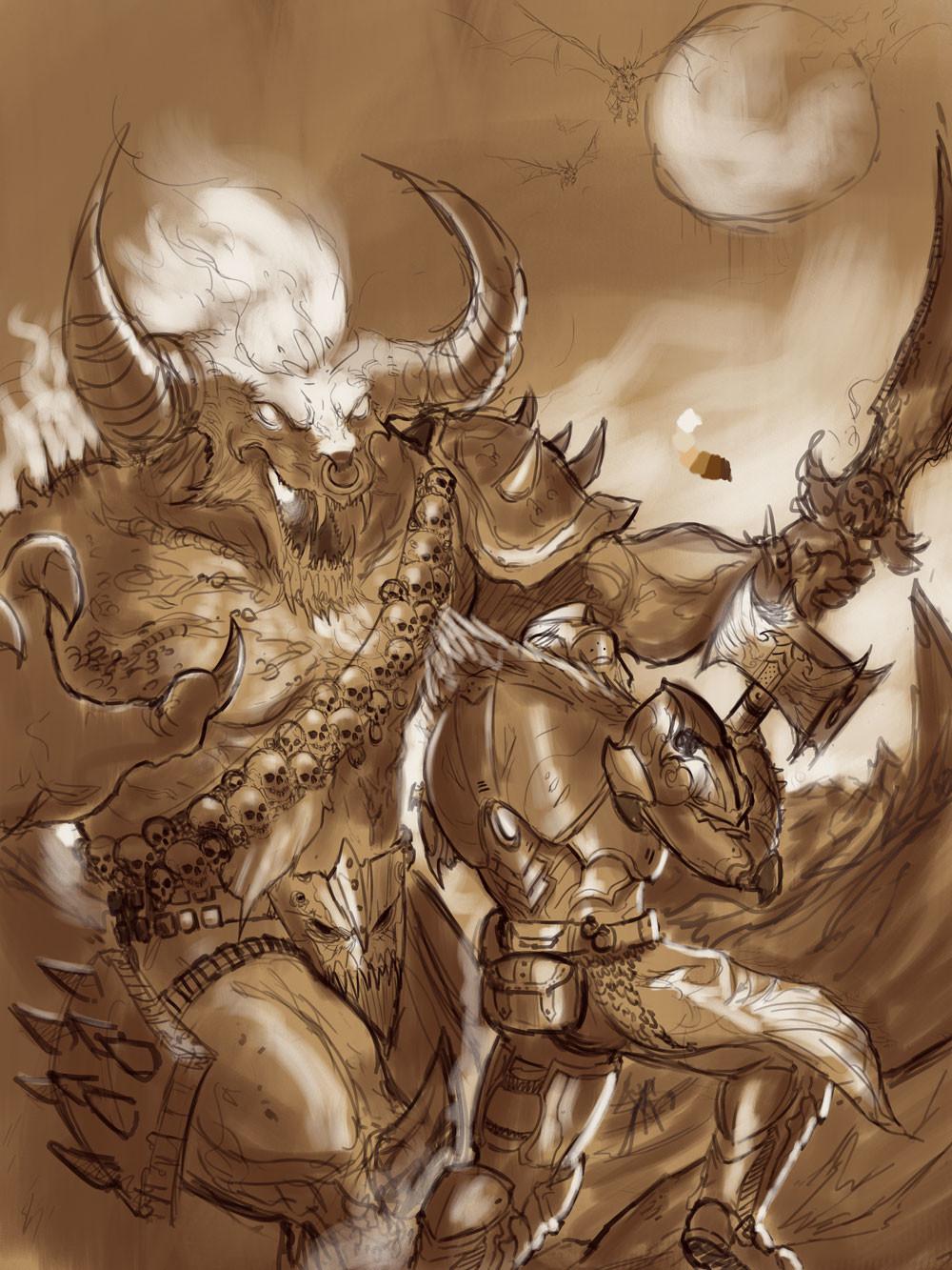 Michael rookard alexandros v blackmetallord wip2