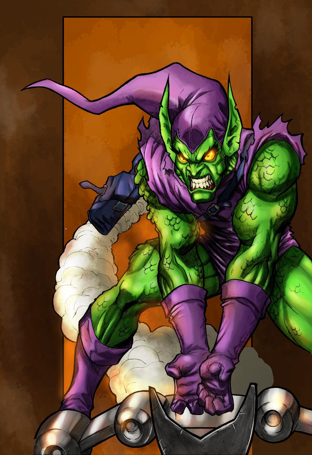 Maksim strelkov green goblin returns miacabrera5