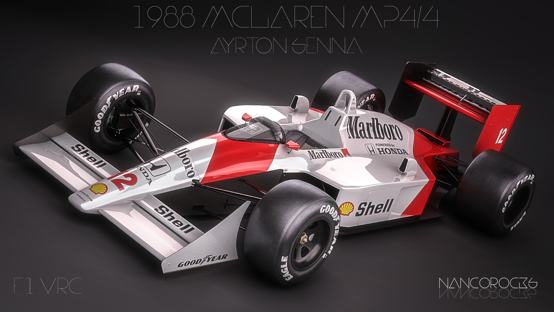 zoki nanco - nancorocks - - 1988 mclaren mp4  4