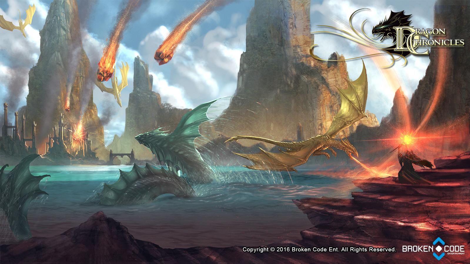 Dragon Battle - Dragon Chronicles