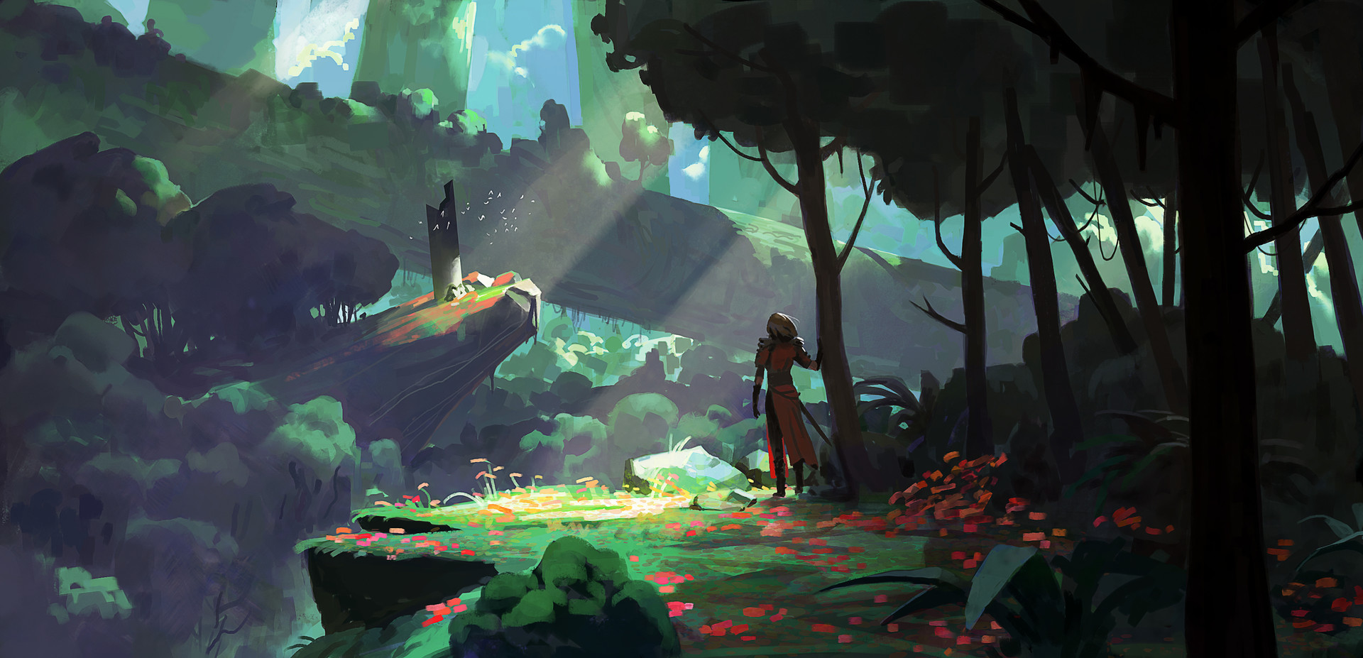 Breaking Down Concept Art For Environments
