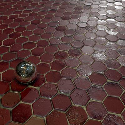 Simon romain pavedground mat