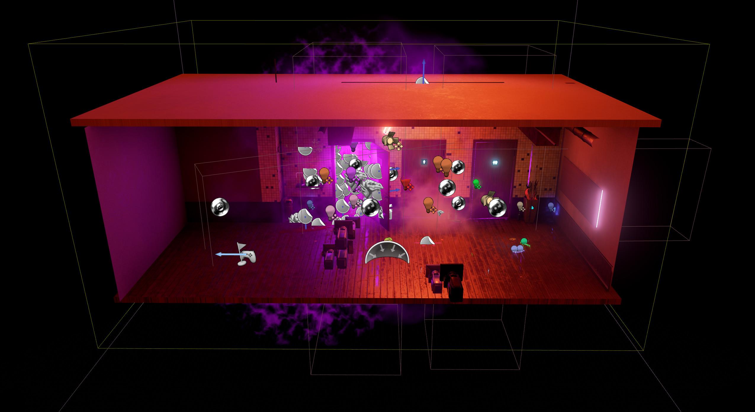 Neon Murder - UE4 Scene