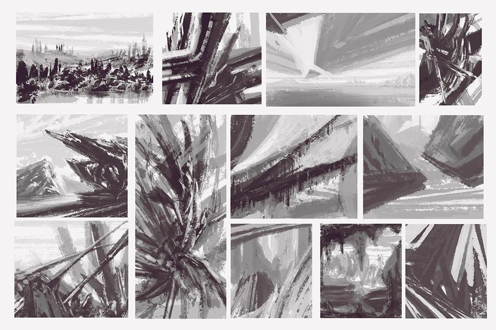 Alexander gorisch paint study 10