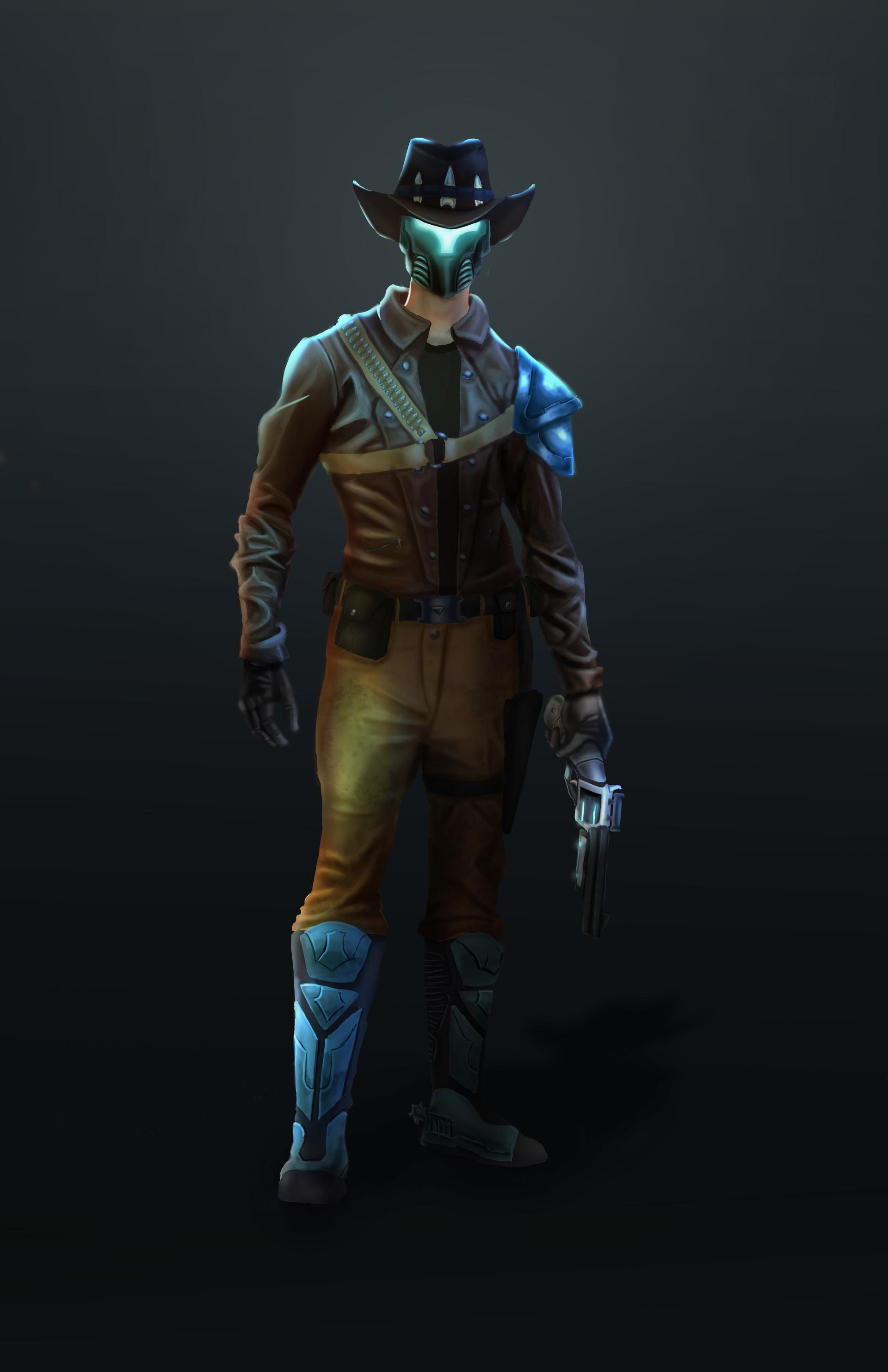 Alex Leblanc Sci Fi Western Bounty Hunter