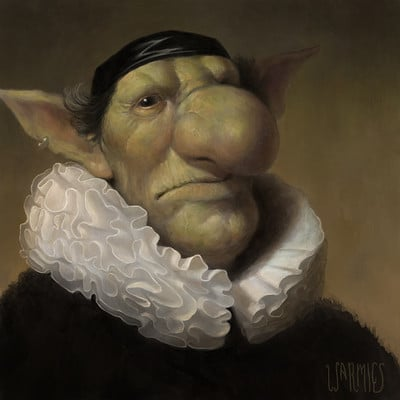 Mario vazquez rembrandt goblin