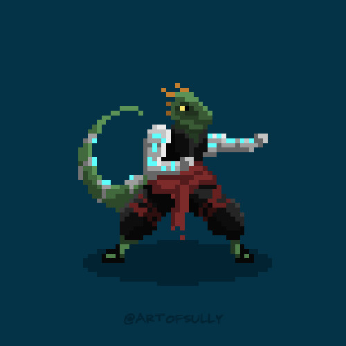 'Throk' Sprite (Commission)