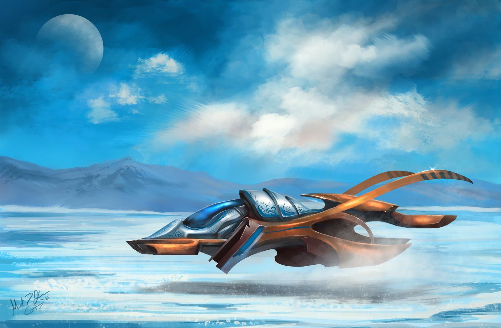 Kajan Vehicle Concept: Naja's Ship