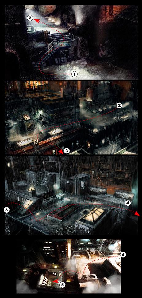 Mikael leger watchmen level layout