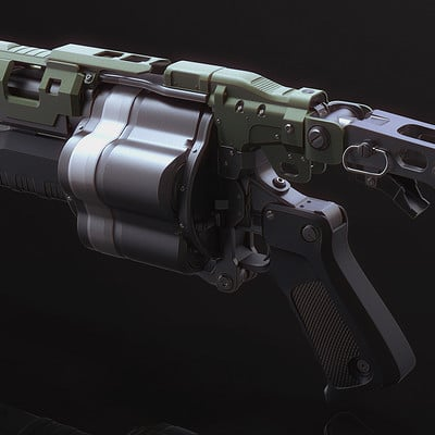 Mark van haitsma grenade launcher back perspective sm