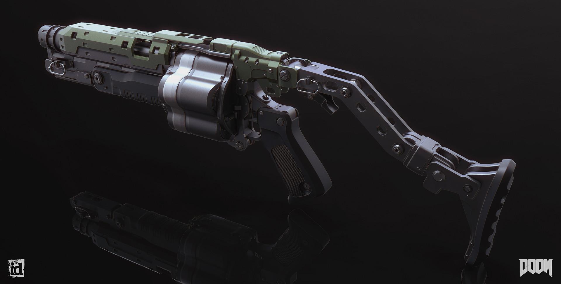 Mark van haitsma grenade launcher back perspective sm