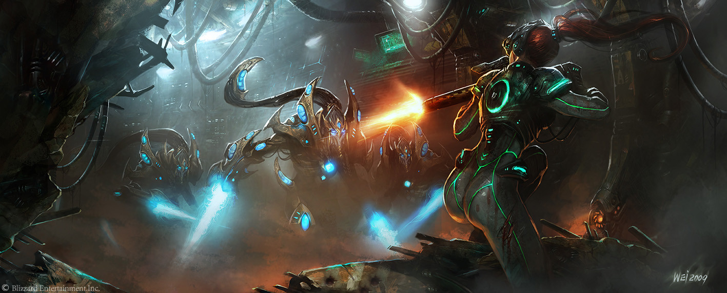 Wei Wang The Art Of Starcraft