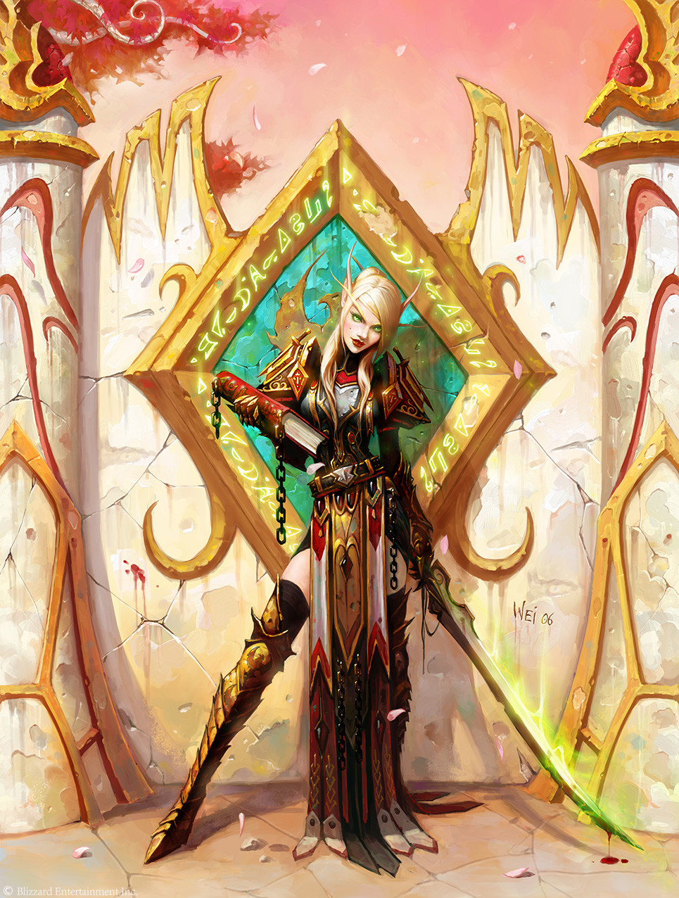 Blood elves art erotica pic