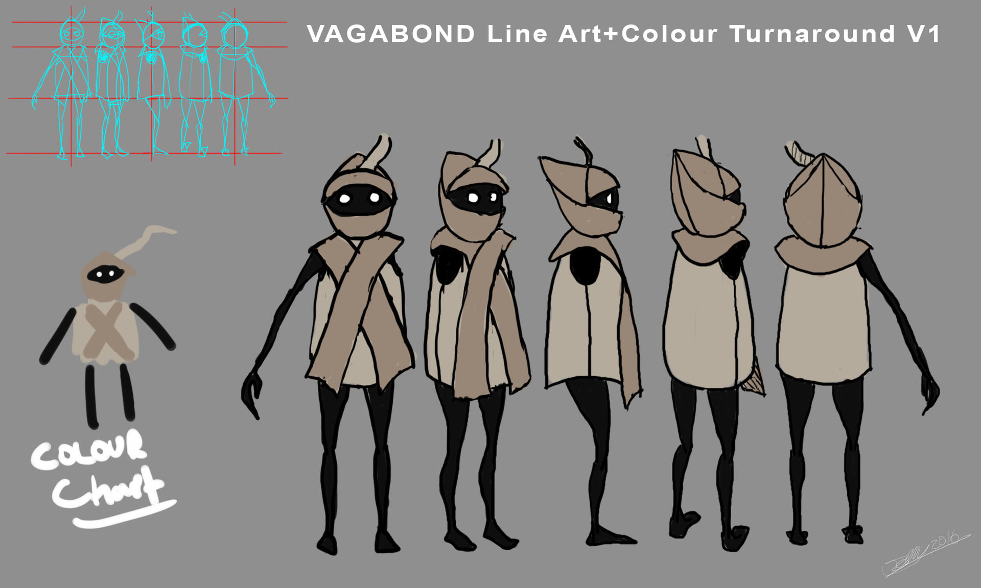 James ball vagabond line art colour turnaround v1
