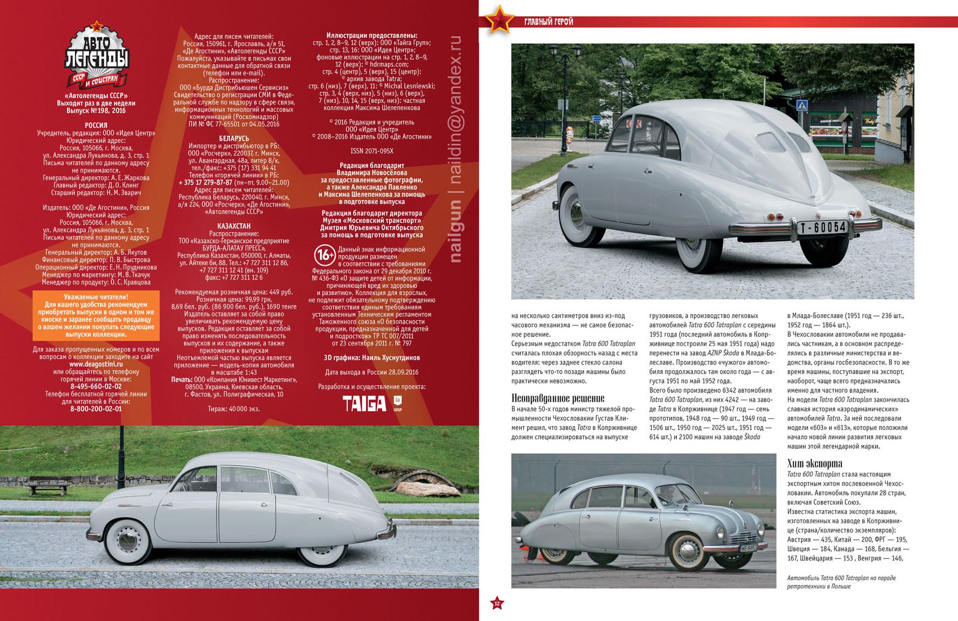 Nail khusnutdinov cars issue 198 hr 2