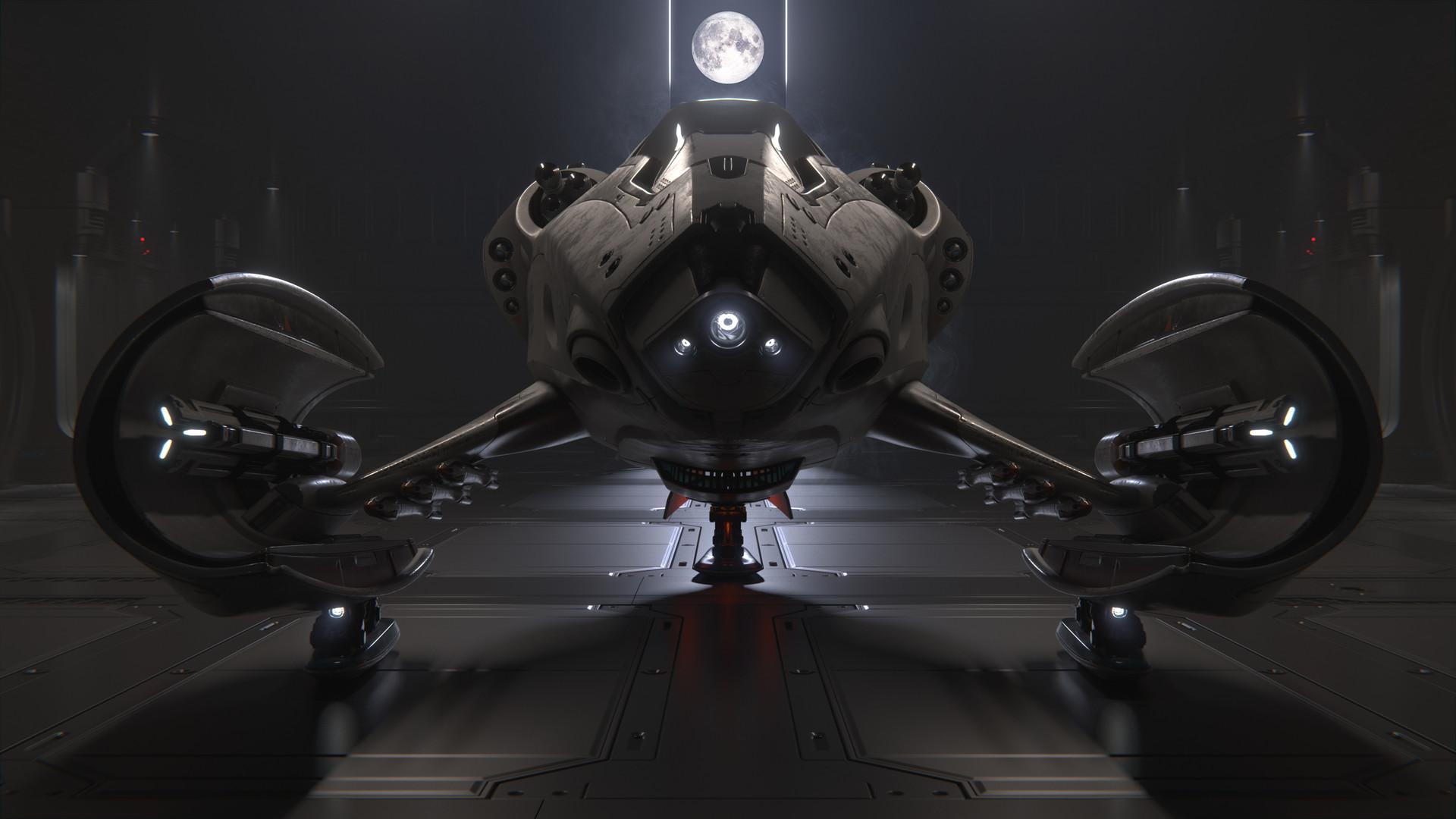 Carsten stueben thrust mantis42 hangar 01