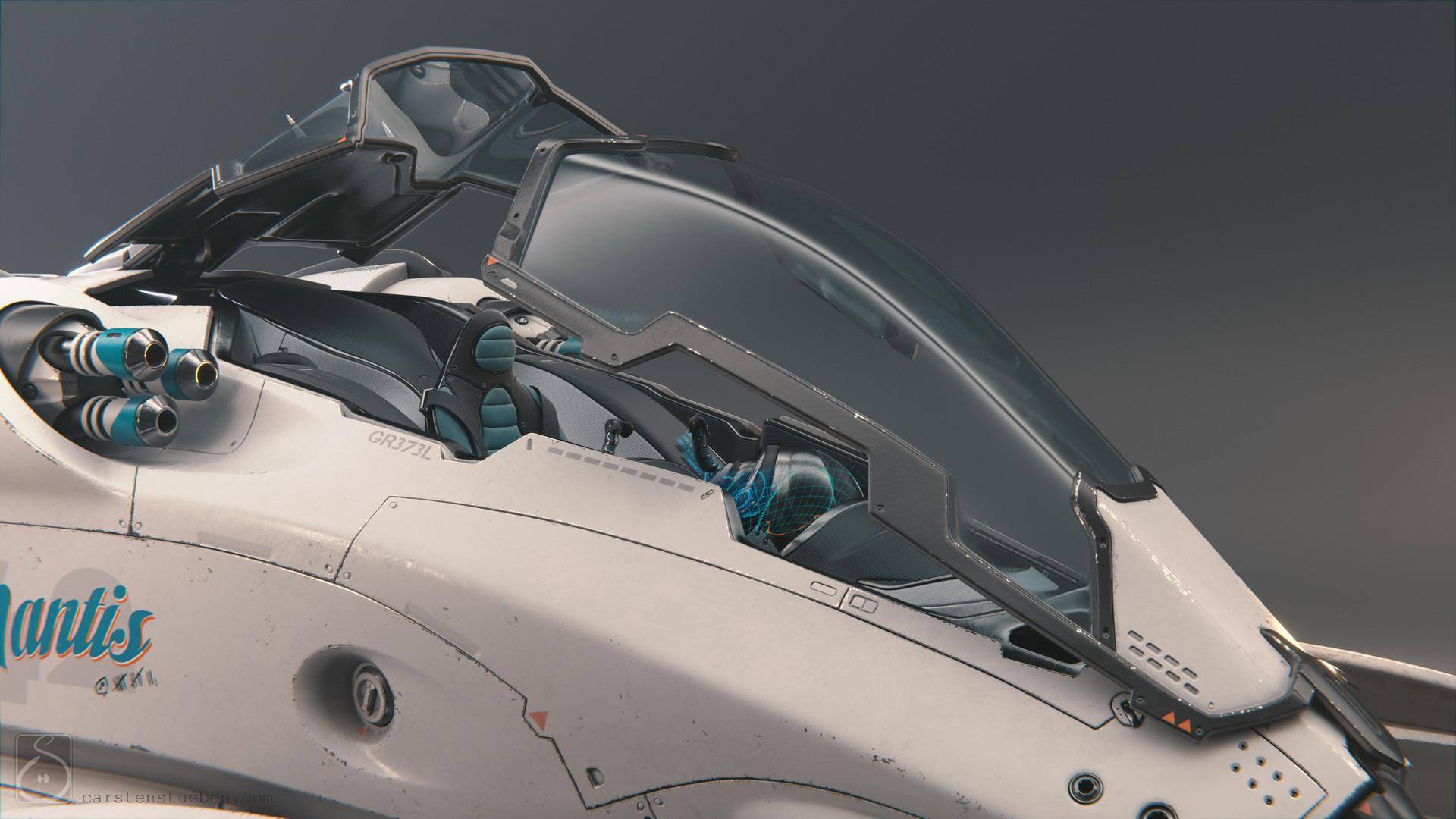 Carsten stueben thrust mantis42 cockpit01
