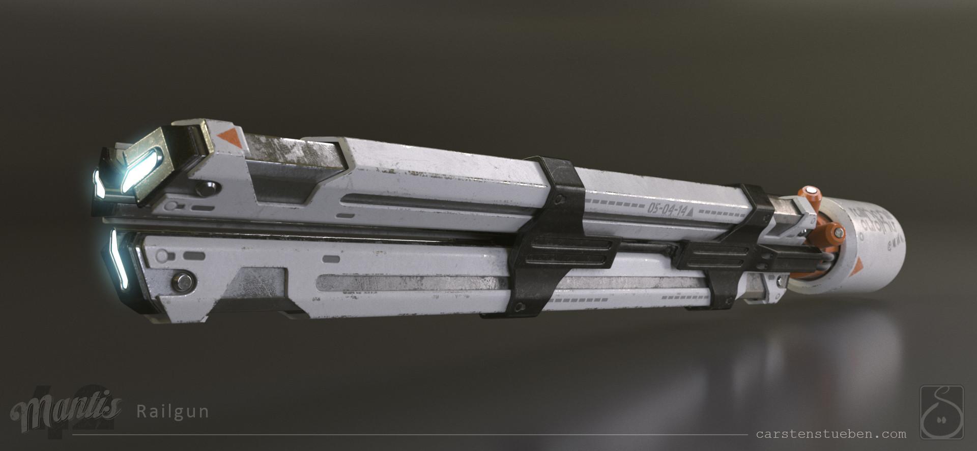 Carsten stueben thrust mantis42 railgun 01