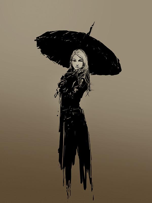 Chris cold umbrela
