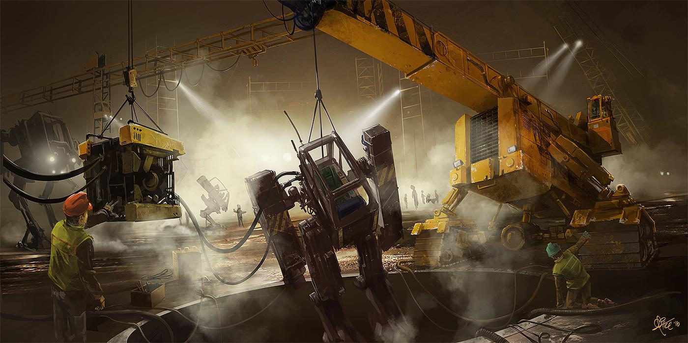 Mirsx agic construction site