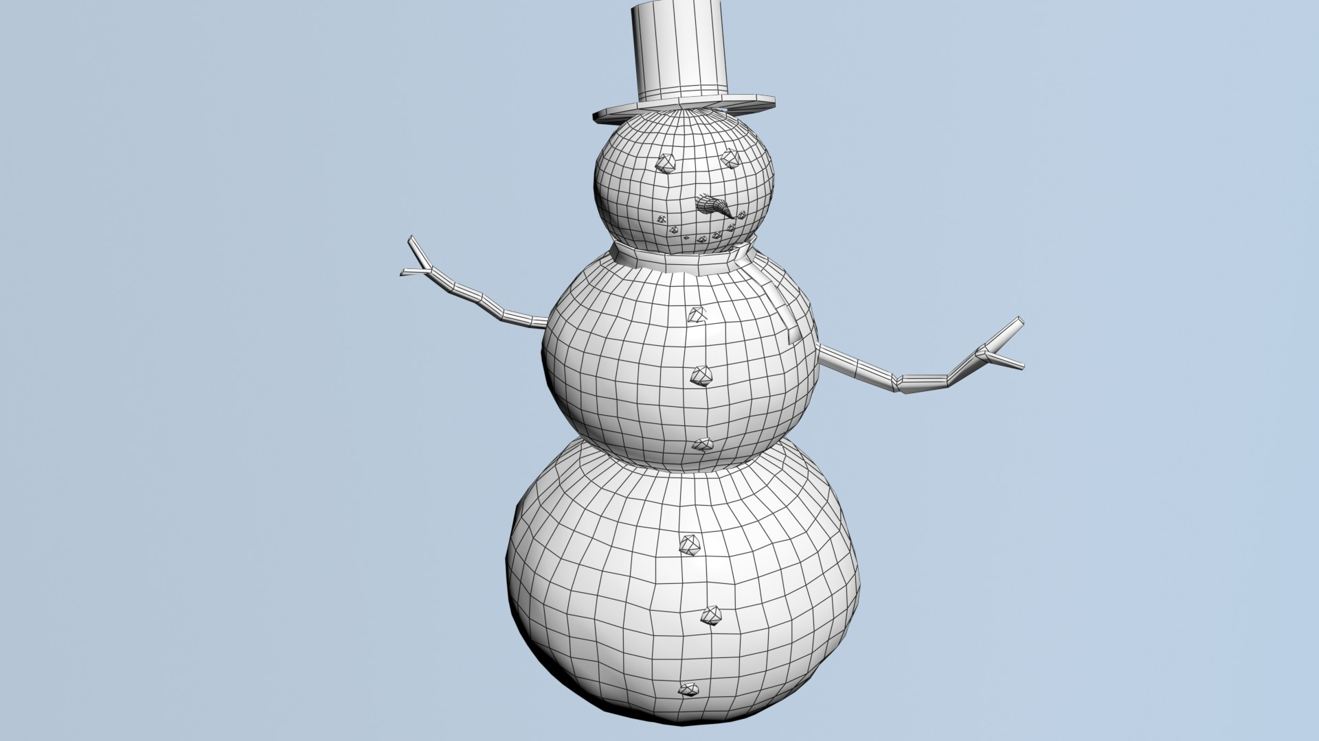 Matej chalachan snowman wire