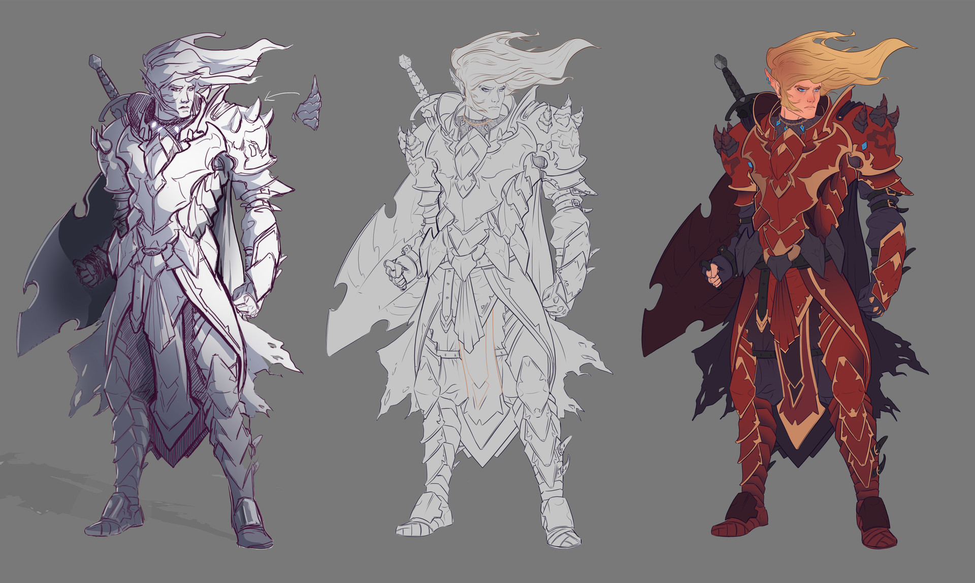 Nico fari characterdesign