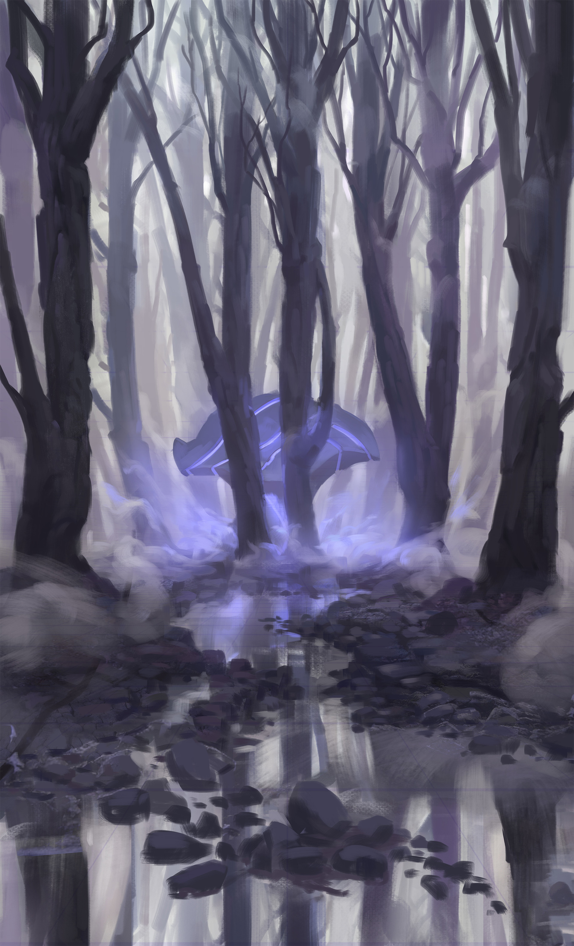 Florian moncomble forest sketch 02