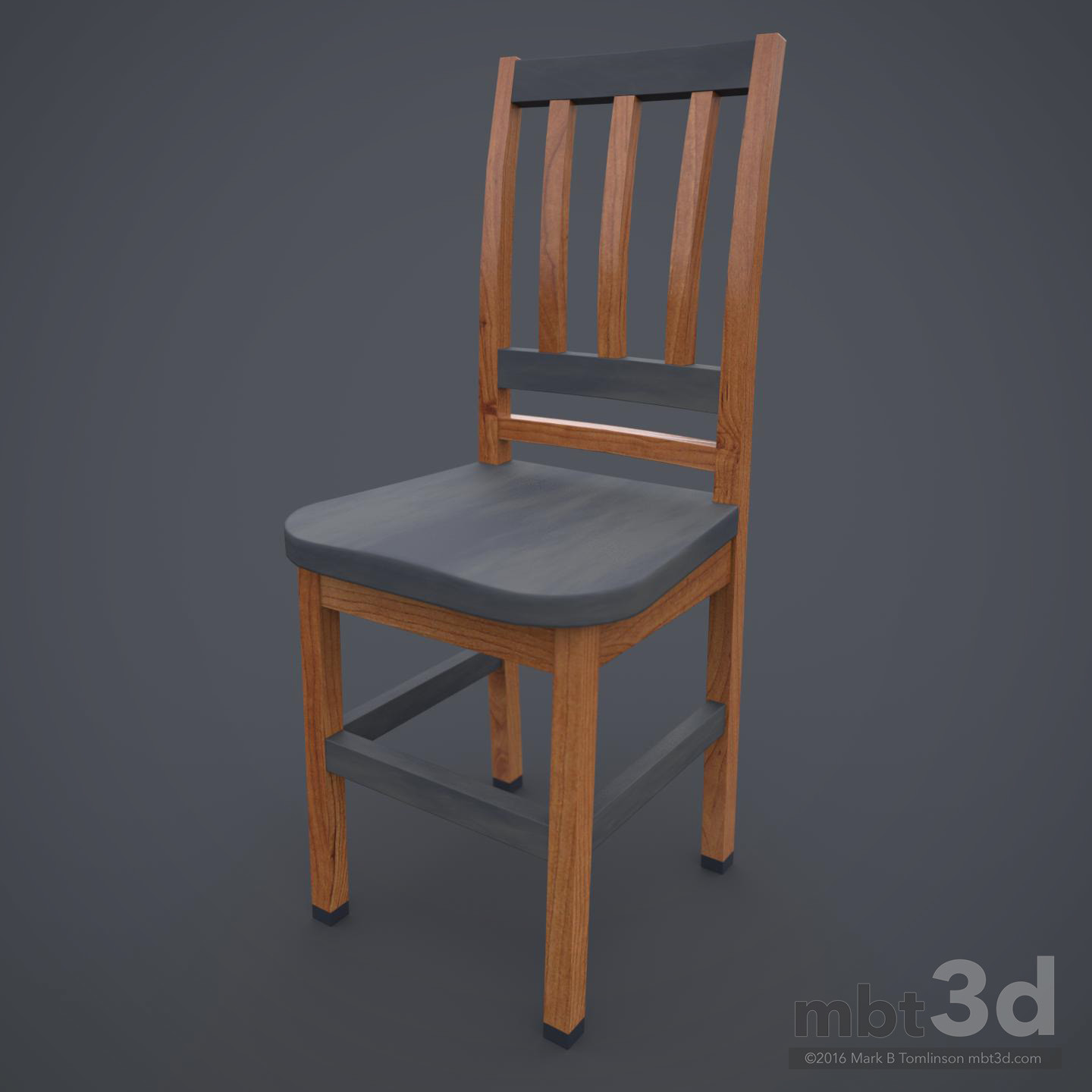 Wooden Chair Mottled