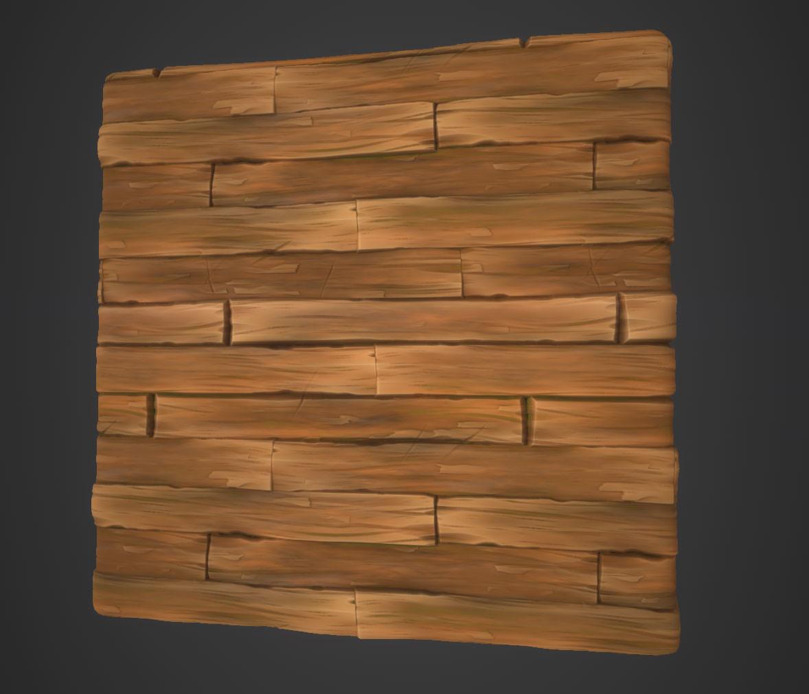 Hugo beyer stylized wood