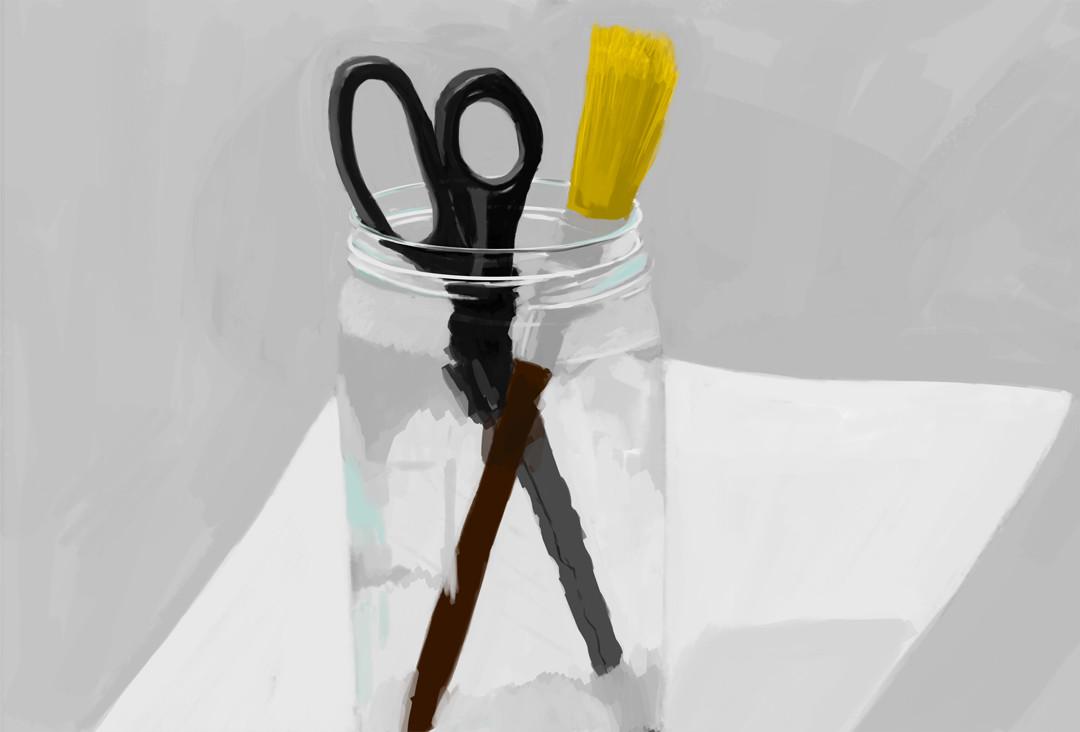Moe murdock paint brush